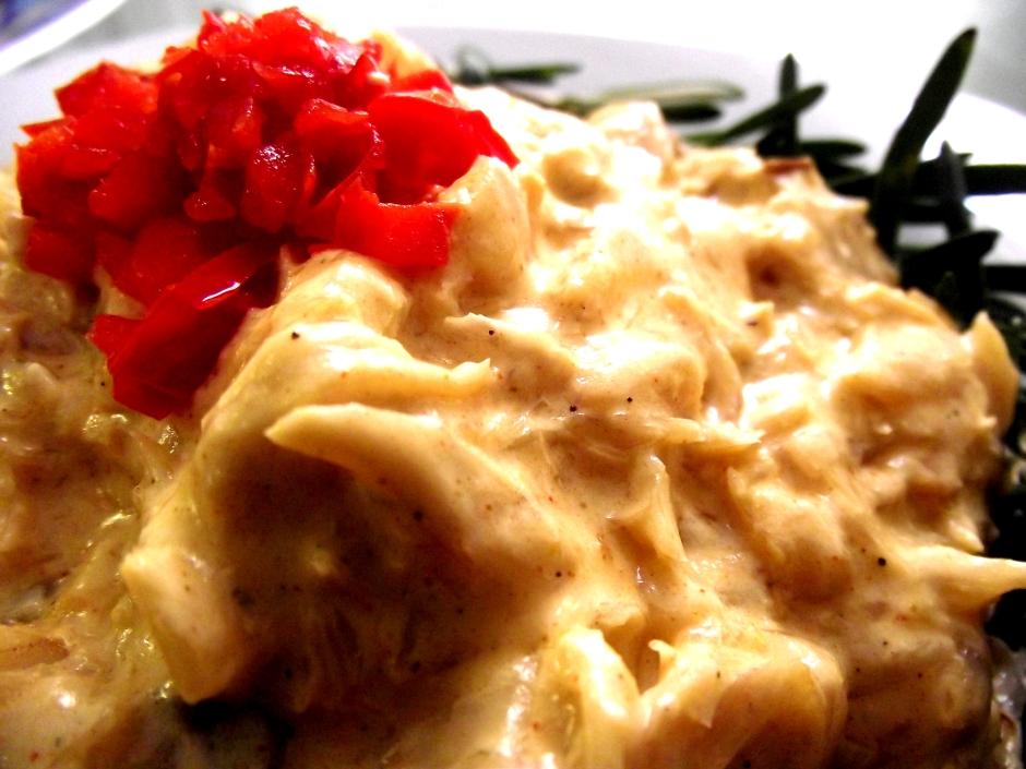 receta de Bacalao en salsa blanca