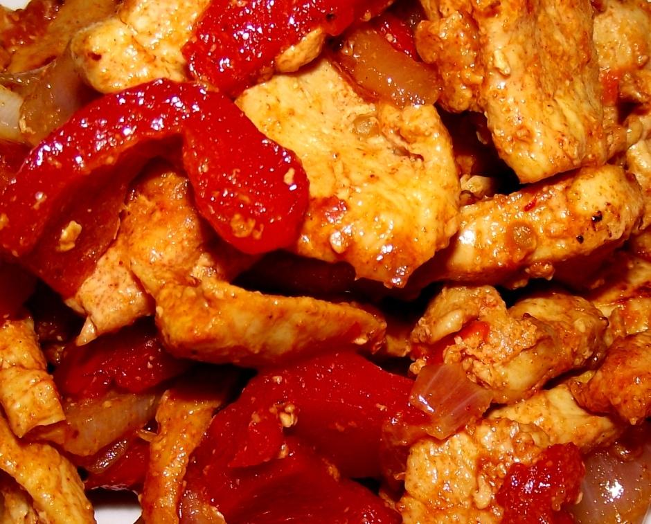 Pechuga de pollo a la paprika