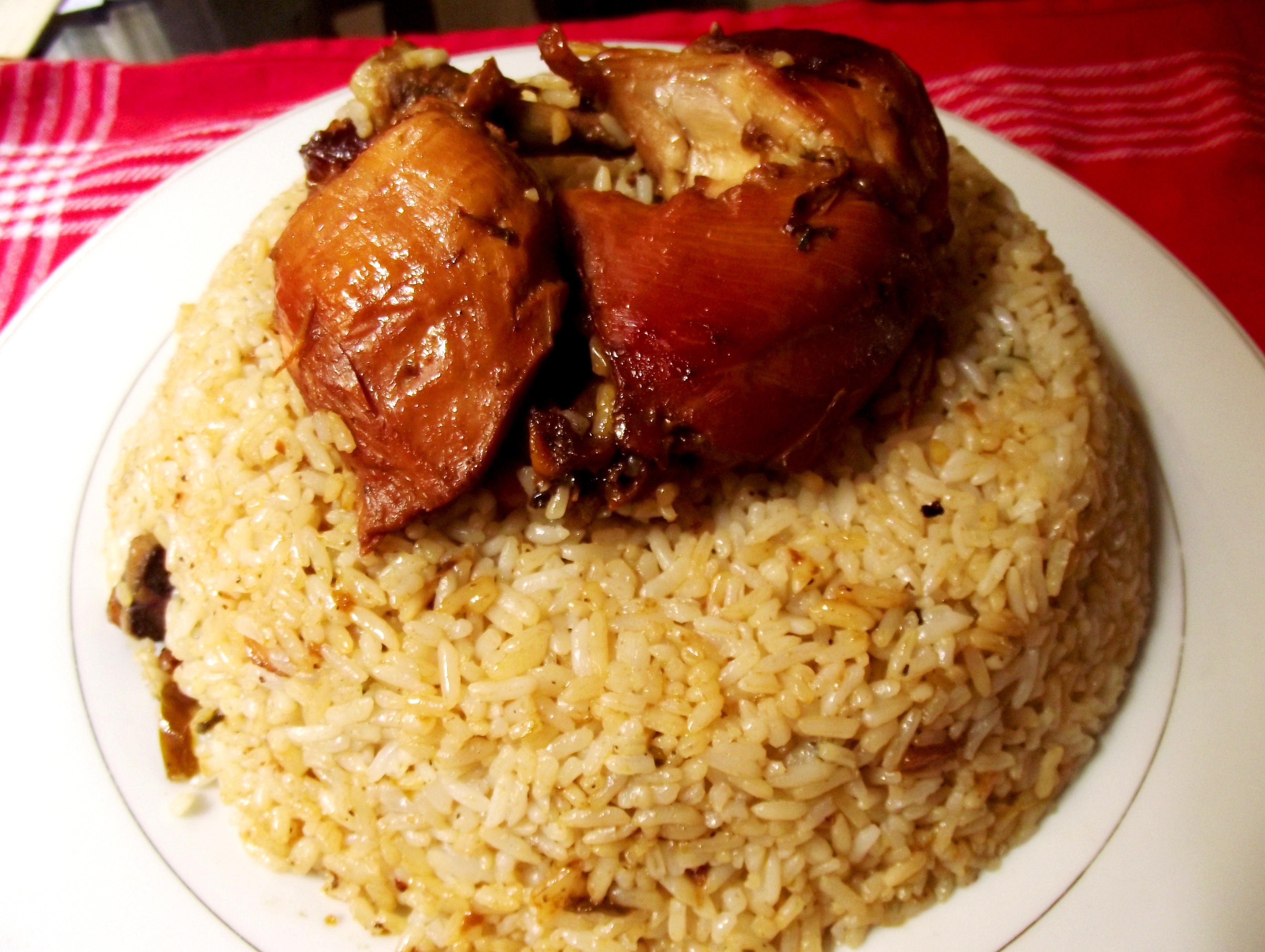 Receta de arroz con pollo dominicanoDominican Arroz Con Pollo