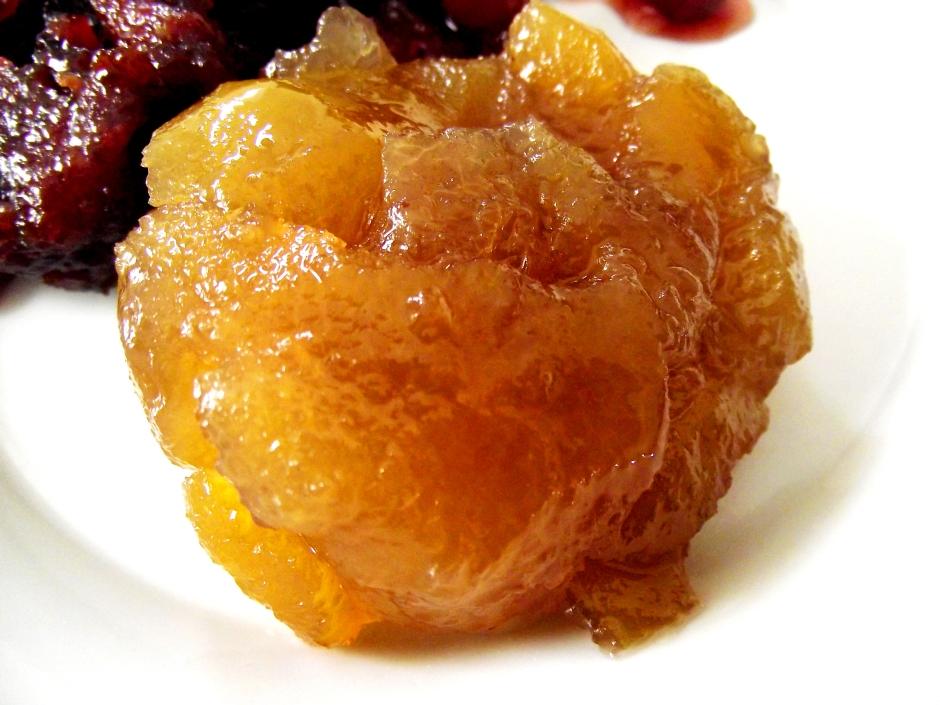 dulce de cáscara de naranja