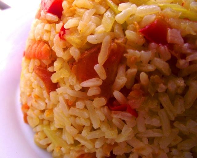 arroz con zanahoria