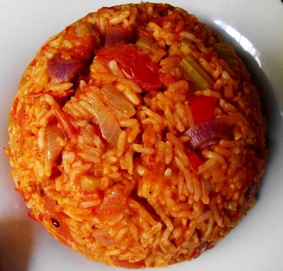 arroz gazpacho