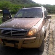El camino no estuvo fácil (había llovido)