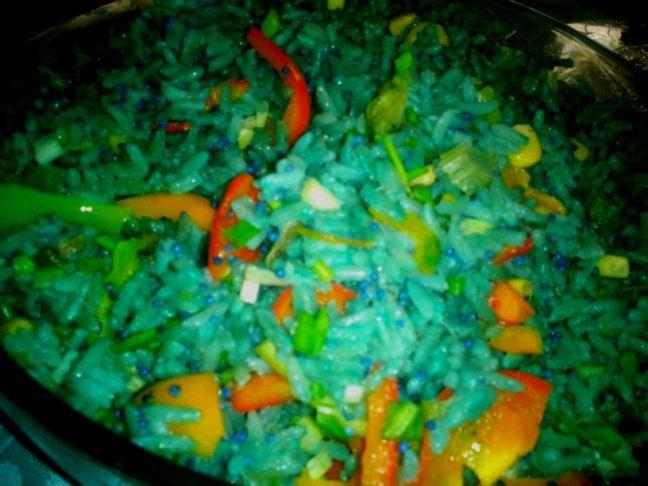 arroz con caviar