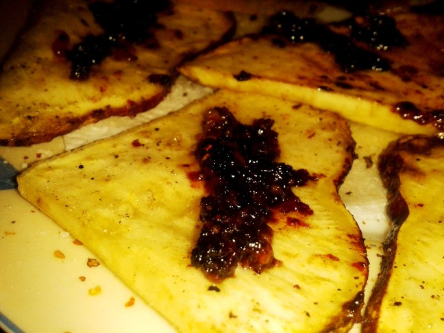 batatas fritas con zurrapa de carne