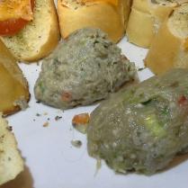 Berenjena a la vinagreta y berenjena con huevo