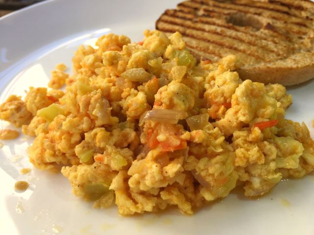dominican scrambled eggs