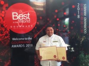 Chef Arturo Féliz-Camilo @ Gourmand 2018