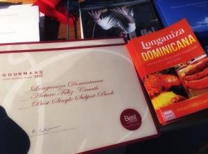 "Longaniza Dominicana ""Best in the World"""