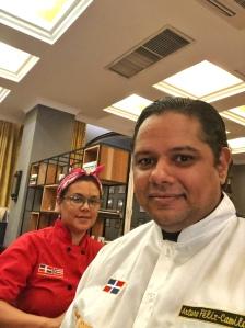 Chef Arturo Feliz Camilo & Chef Zobeira Gil