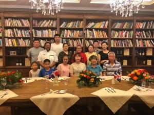 Tercera cena en Yantai