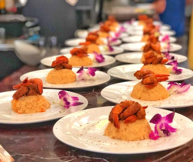 Asopao de camarones dominicano