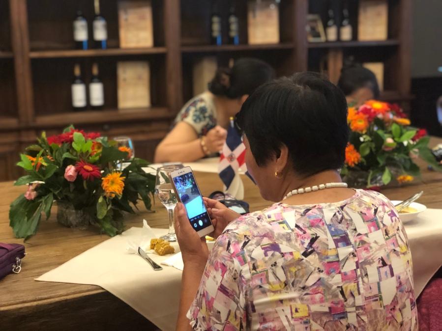 7ma cena Yantai Wine Bay Club - Festival de la Cocina Dominicana en China 2019