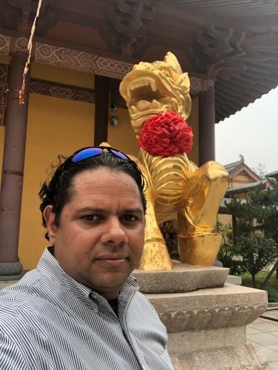 Templo en Yantai