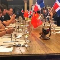 Décimo-tercera cena en el marco del Festival de La Cocina Dominicana en China (Yantai, 2019)