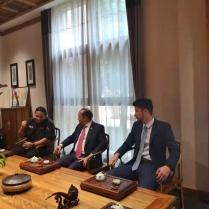 Embajador Briunny Garabito y Arturo Feliz-Camilo