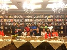 Décimo-cuarta cena en el marco del Festival de La Cocina Dominicana en China (Yantai, 2019)